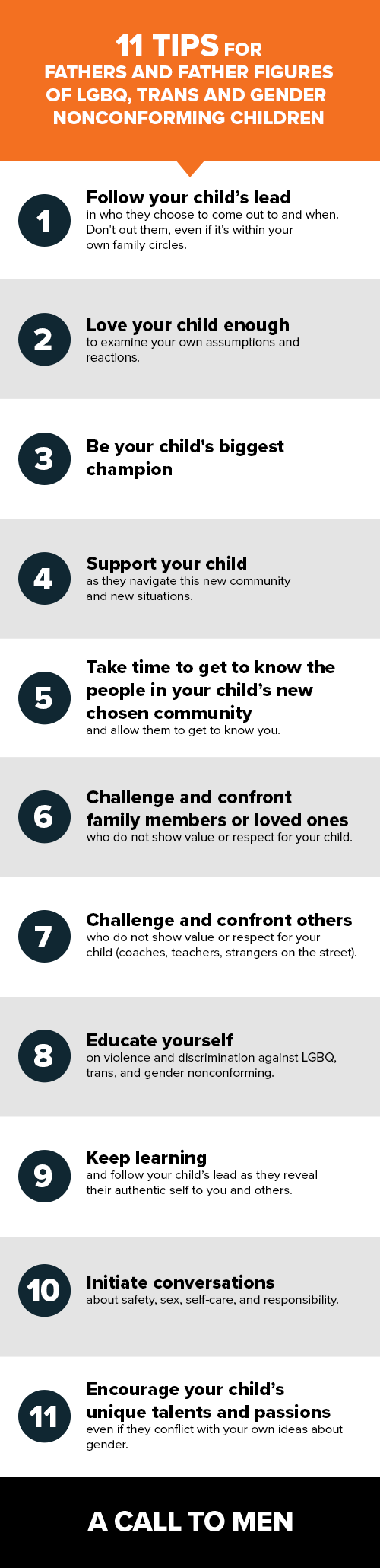 11 tips for fathers and father figures