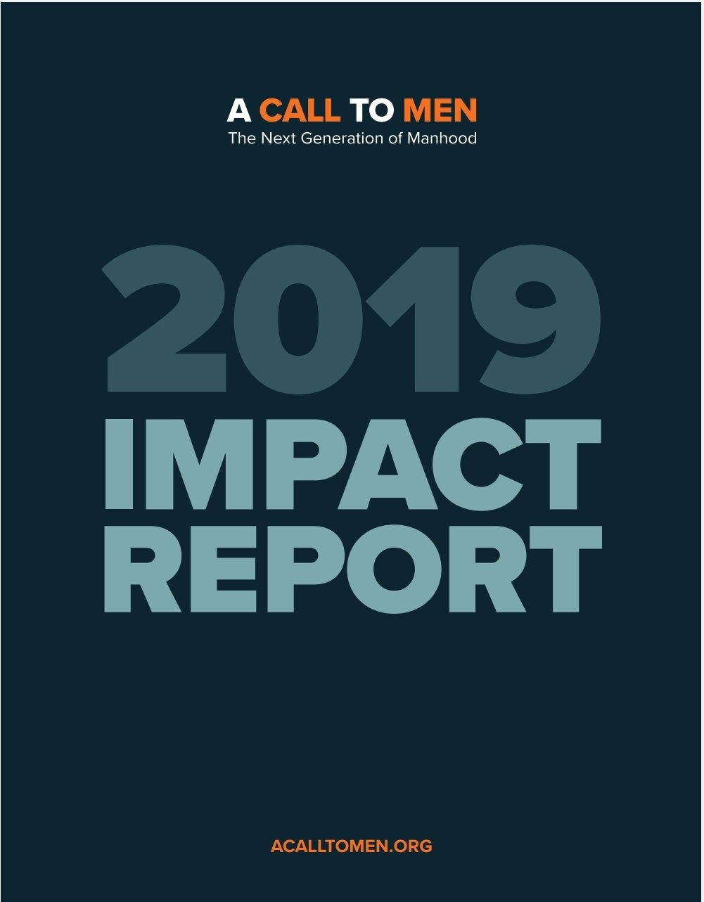A Call To Men 2019 Impact Report