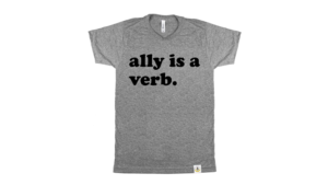 ally is a verb