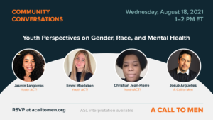 Community Conversations: Youth Voices on Gender, Race, and Mental Health