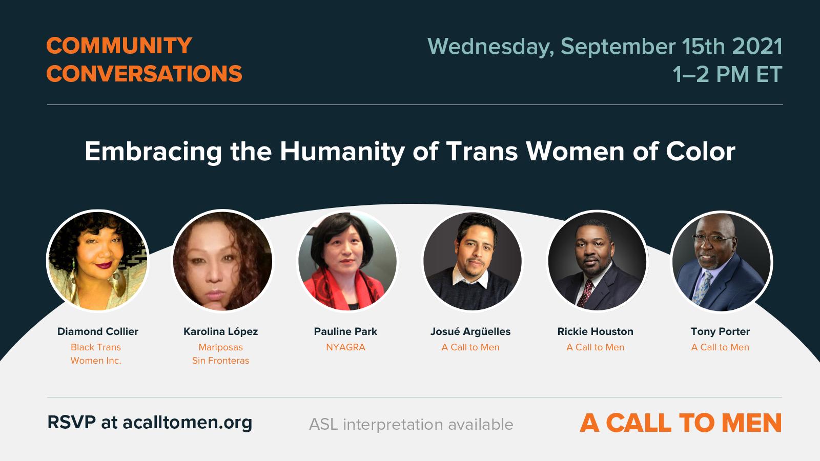 Community Conversation Transgender Women of Color